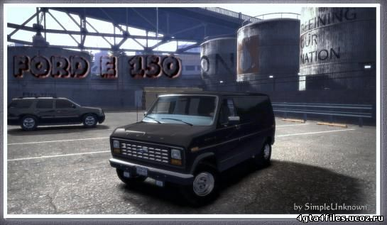 "GTA 4 ""Ford E-150 Van"""