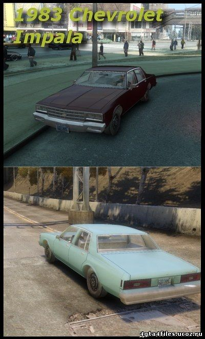 "GTA 4 ""1983 Chevrolet Impala Civil для GTA 4"""