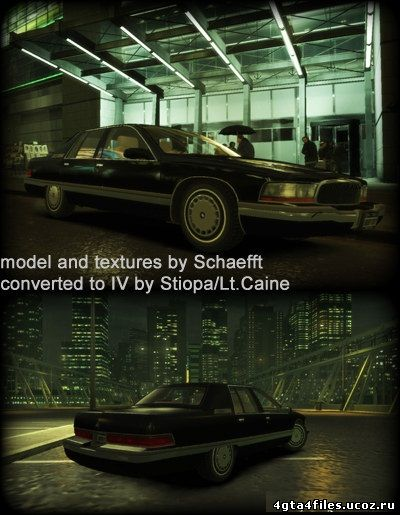 "GTA 4 ""1996 Buick Roadmaster"""