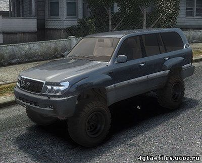 "GTA 4 ""Toyota Land Cruiser 100"""