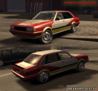"GTA 4 ""Audi 80 B2 Quattro Rally"""