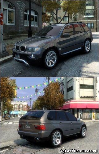"GTA  4 ""BMW X5"""