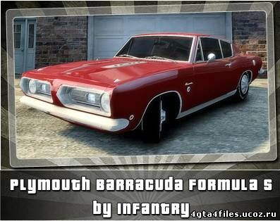 "GTA 4 ""Plymouth Barracuda Formula S '1968"""