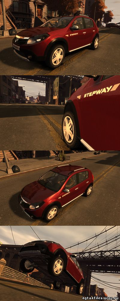 """GTA 4 """"Dacia Sandero"""""""