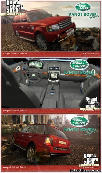 "GTA 4 ""Range Rover Sport"""