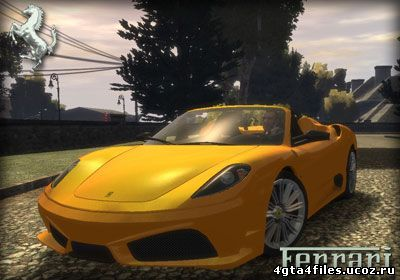 "GTA 4 ""Ferrari Spyder"""